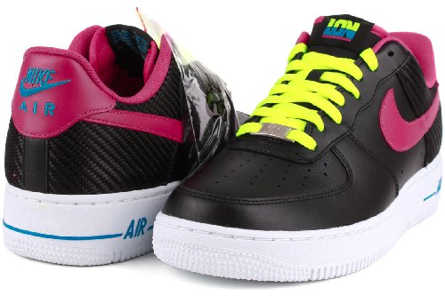 Air Force 1 Low CMFT Prm Qs bianco / oro metallizzato / hypr Punch scarpa da basket 10.5 Us Black/Fireberry