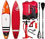 Fanatic Ray Air Touring Premium 12.6 inflatable SUP Windsurf Stand up Paddle Board Komplett Set