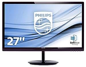 Philips 284E5QHAD/00 71,1 cm (28 Zoll) MVA-Monitor (VGA, 2xHDMI, 1920 x 1080, 60 Hz, 4ms Reaktionszeit) dunkelkirsch