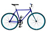 Critical Cycles Classic Fixed-Gear Single-Speed Urban Road Bike with BMX Bars, 1210
