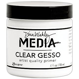 Ranger 4 oz Clear Gesso Jar, White