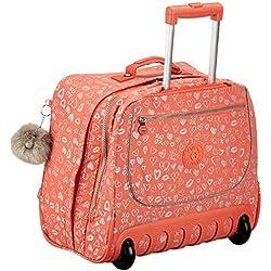 Kipling CLAS Dallin Cartable, 42 cm, 25 liters, Multicolore (Hearty Pink Met)