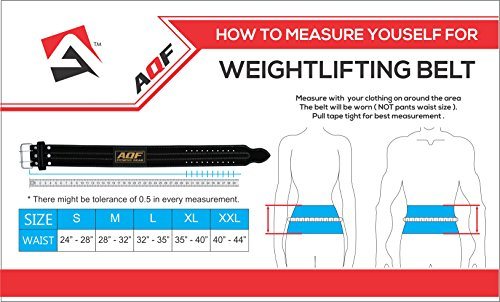 AQF-Weight-Lifting-Nubuck-Leather-Power-Belt-Back-Support-Strap-Gym-Training-Dip-Small-Medium-Large-XLarge-Large-32-to-35
