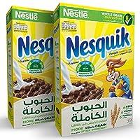 Nestle Nesquik Chocolate Breakfast Cereal 375g (2 Packs)