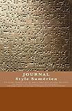 JOURNAL Style Sumerien: Journal de bord / Carnet de voyage / Cahier quotidien - Design Unique
