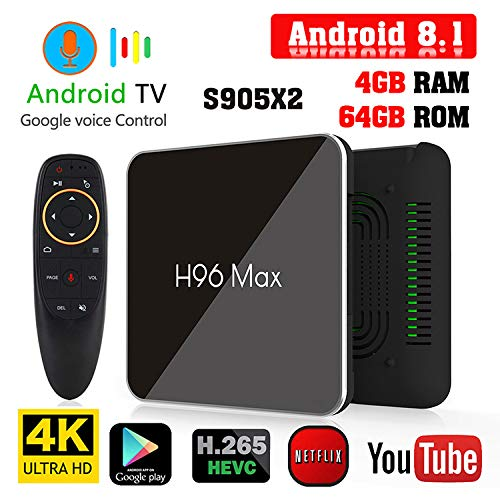 Ocamo TV converter S905X2 H96 Max X2 Android 8 1 TV Box HD