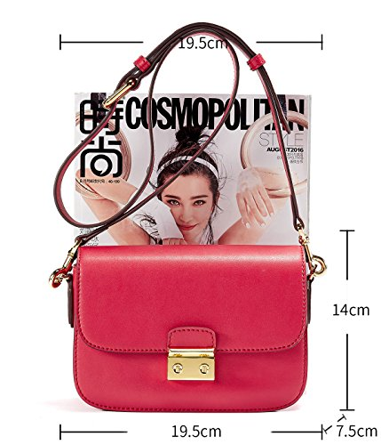 EMINI HOUSE, Borsa a tracolla donna Small Red