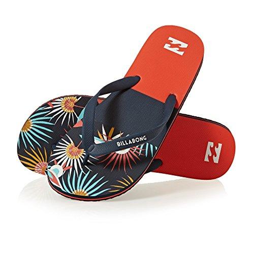 Billabong Tides Tribong Chaussures de Sport en Salle Homme Rouge