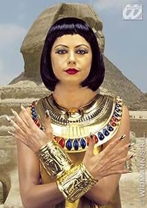 Widmann wdm8512C–Collier et bracelets Cleopatra, multicolore, Taille unique