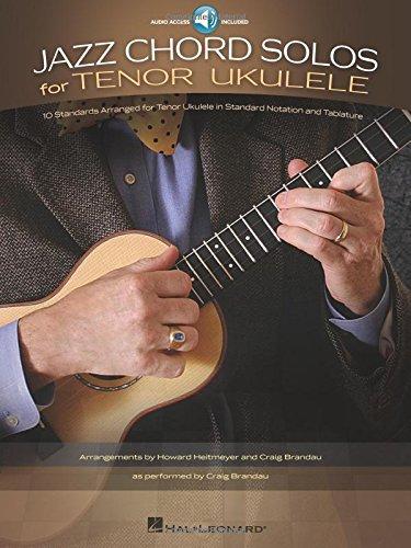 Jazz Chord Solos -For Tenor Ukulele-: Noten, CD für Ukulele
