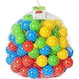 ISO TRADE Bolas de plástico Piscina Bolas de niños niños diversión jardín Fiesta Interior Colorido /