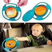 Gazechimp Tazón Cuenco para Bebé Pequeño de Alimentación de Plasticó Olla de Limpieza De Seguridad Duradero Accesorio para Bebé