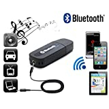 #10: Iball Andi Compatible Compatible CertifiedBluetooth Stereo Adapter Audio Receiver 3.5Mm Music Wireless Hifi Dongle (Black)
