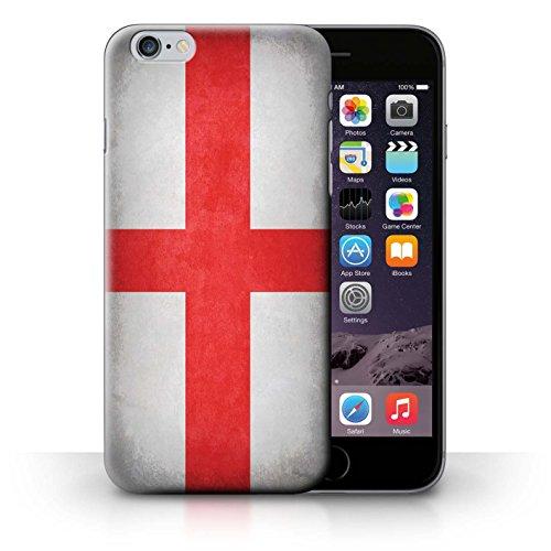 Hülle für iPhone 6+/Plus 5.5 / Schweiz/Swiss / Flagge Kollektion England/Englische