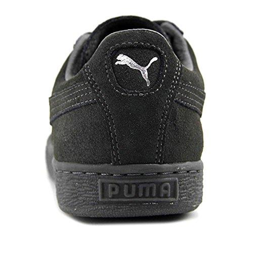 Puma Suede Classic Mono Reflced Wildleder Turnschuhe dark shadow-puma silver