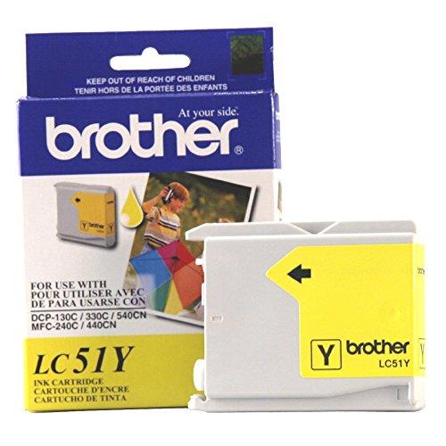 Brother MFC-5460CN Gelb Original Tintenpatrone Standard Ergiebigkeit (400Ergiebigkeit) -