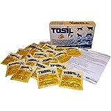 TOSIL fx Tabs (25 Tabletten) - Geprueftes Desinfektionsmittel, wirksam gegen Bakterien, Viren, Pilze und Parasiten (Giardien & Kokzidien), Wirkstoff: Chloramin-T