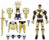 Power Rangers Samurai - Mega figura Ranger Shogun, color dorada (Bandai 31743)
