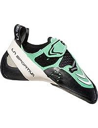 La Sportiva 20F704000, Zapatos de Escalada para Niñas, (Jade Green/White 000), 35 EU