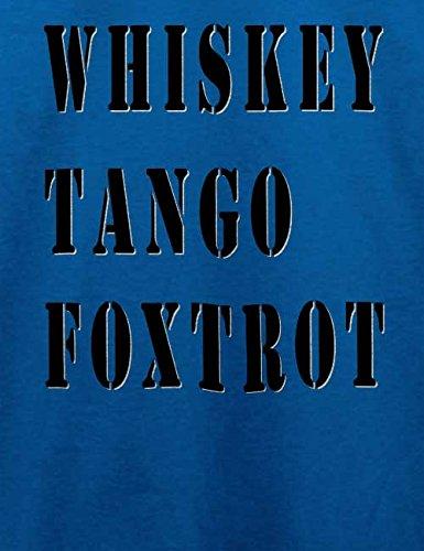 Whiskey Tango Foxtrot T-Shirt Royal Blau