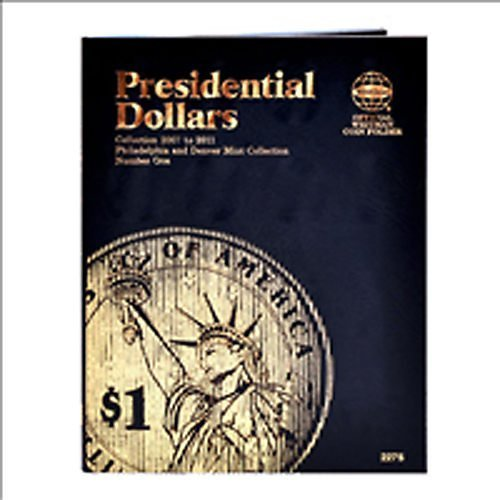 Presidential Dollar Folder,P&D Mint by Whitman Coins -