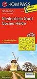 Niederrhein Nord - Gocher Heide: Fahrradkarte. GPS-genau. 1:70000 (KOMPASS-Fahrradkarten Deutschland, Band 3052)