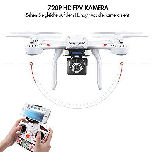 Goolsky-MJX-X101-24G-4CH-6-Axis-Gyro-Wifi-FPV-RC-Quadcopter-con-MJX-C4008-720P-aerea-Camera-Componenti