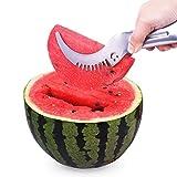 Wassermelonenmesser, Pemotech-Schneidwerkzeuge FüR Wassermelonen-Edelstahl, Fruit Peller, Das Schnellste Schneidwerkzeug FüR Melonen