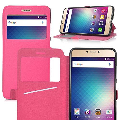 eltd-blu-vivo-6-case-flip-premium-case-cover-for-blu-vivo-6-pink