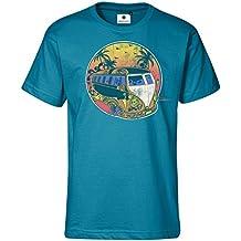 Bedrucktes Herren T-Shirt Peaceful Bulli