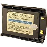 3,6V-600mAh Accu Li-Ion para LG, 510blue, 510W,