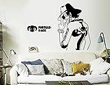 Papapanda Wandtattoo für One Piece Puma Portgas D. Ace Autotattoo Anime Manga Dekoration Wandaufkleber Wall Sticker