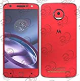 #6: GADGETS WRAP Exclusive Red Electroplating Skin for Moto Z