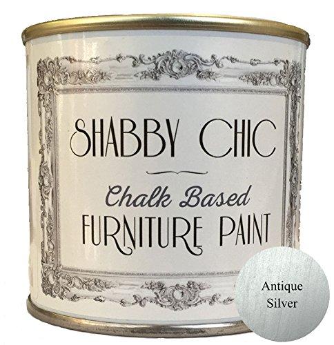 shabby-chic-furniture-paint-peinture-base-de-craie-pour-meubles-argent-antique-125-ml