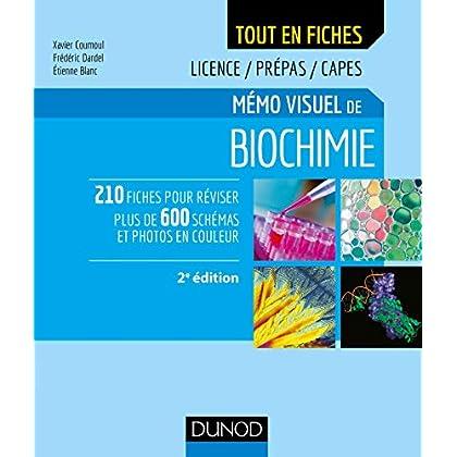 Mémo visuel de biochimie - 2e éd. : Licence / Prépas / Capes