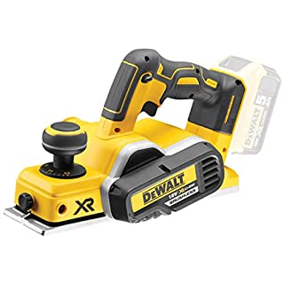 DEWALT DEWPDCP580N 18 V XR Li-ion Brushless Cordless Planer-Yellow, 18 W, Bare Unit, No Battery or Charger