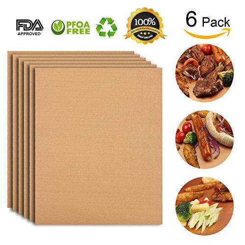 Kupfer BBQ Grill Matte alimat Plus antihaft-Große Ofen Liner Tablett Perfekt für alle grillarten (Kupfer-ofen)