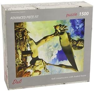 Editions Ricordi 5901N32076 - Puzzle de 1500 Piezas del Cuadro Construcción Suave con alubias hervidas de Dalí