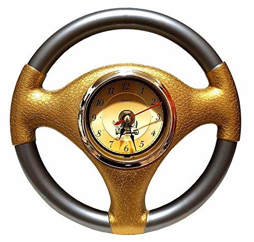 Unbekannt Autolenkrad Auto Lenkrad Wanduhr Garage Büro Uhr Clock 20cm