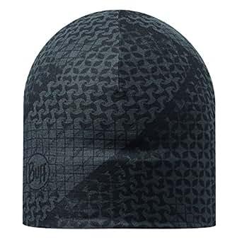Buff Reversible Tanju Mircofibre Hat - Grey/Black, One Size