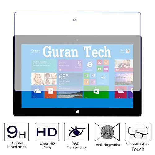 Guran® Protector de Pantalla Vidrio Cristal Templado Para Microsoft Surface Pro 2 (10.6pulgada) Tablet Film