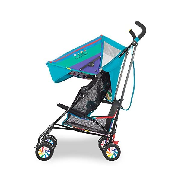 Maclaren Dylan's Candy Bar Volo Stroller - super lightweight, compact Maclaren Basic weight of 3.3kg/7.2lb; ideal for children 6 months and up to 25kg/55lb Maclaren is the only brand to offer a sovereign lifetime warranty Extendable upf 50+ sun canopy and built-in sun visor 3