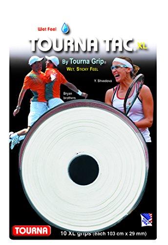Preisvergleich Produktbild Unique Tennis Griffbänder Tourna Tac Weiß 10er,  TG-2-10-XLW
