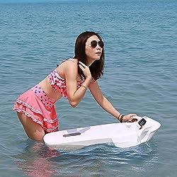 ZUEN 5-15KM / H sous Le Scooter De Mer De l'eau, Blanc De Scooter De Piscine sous-Marine De Vitesse Rapide Imperméable De 3200W Seascooter Électrique
