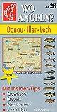 Wo angeln?, Nr.28, Donau, Iller, Lech (Wo angeln? / Karten)