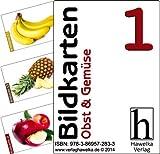 Bildkarten 1 (50 Aktivierungskarten Obst & Gemüse) - ideal in der Altenpflege, Geriatrie und Heimbetreuung, Biografiearbeit, Sprachförderung, Pädagogik, Therapie - im Spielkarten-Etui
