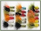 Best Pesca con mosca vuela - 18humongous Pesca de la trucha vuela tamaño 10), Review