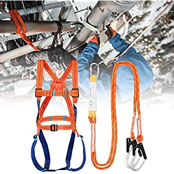 GFP-10R G-Force Confined Space /& Rescue Full Body Height Safety Fall Arrest Protection Harness M-XL