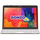 """DONZO Aluminium Case inkl. QWERTZ Bluetooth Tastatur für Samsung Galaxy Tab S / T800 & T805 / 10.5"""" - Weiß"""