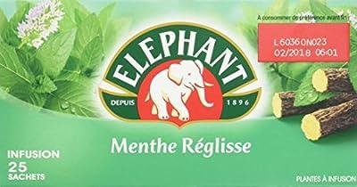 Elephant Infusion Menthe Reglisse 25 Sachets 37,5 g